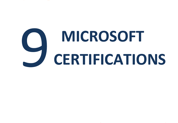 Microsoft Dynamics Certifications